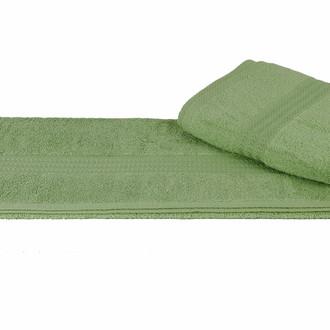 Полотенце для ванной Hobby Home Collection RAINBOW хлопковая махра зелёный 30*50