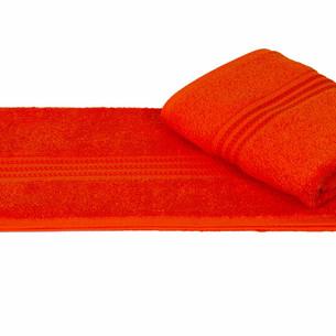 Полотенце для ванной Hobby Home Collection RAINBOW хлопковая махра оранжевый 70х140