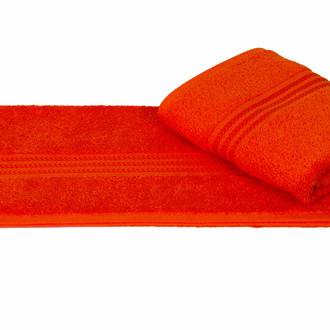 Полотенце для ванной Hobby Home Collection RAINBOW хлопковая махра (оранжевый)