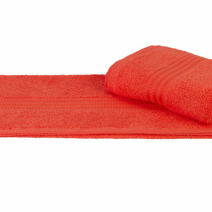 Полотенце для ванной Hobby Home Collection RAINBOW хлопковая махра персиковый 50х90