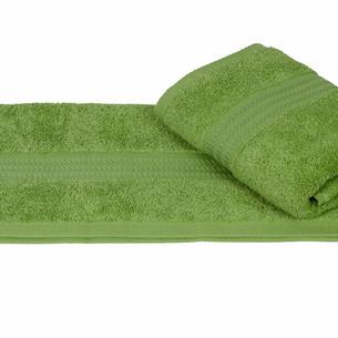 Полотенце для ванной Hobby Home Collection RAINBOW хлопковая махра оливковый 50х90