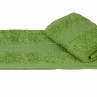 Полотенце для ванной Hobby Home Collection RAINBOW хлопковая махра оливковый