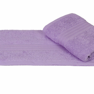 Полотенце для ванной Hobby Home Collection RAINBOW хлопковая махра (светло-лиловый)