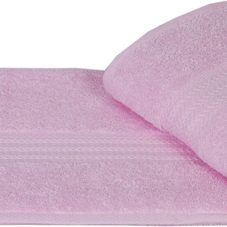 Полотенце для ванной Hobby Home Collection RAINBOW хлопковая махра (светло-розовый)