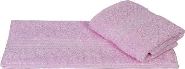Полотенце для ванной Hobby Home Collection RAINBOW хлопковая махра (светло-розовый) 70*140, фото, фотография