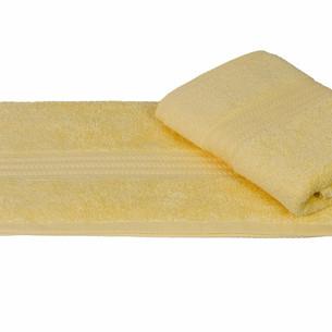 Полотенце для ванной Hobby Home Collection RAINBOW хлопковая махра светло-жёлтый 50х90