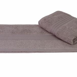 Полотенце для ванной Hobby Home Collection RAINBOW хлопковая махра серый 70х140