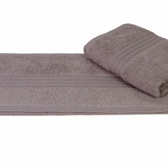 Полотенце для ванной Hobby Home Collection RAINBOW хлопковая махра серый