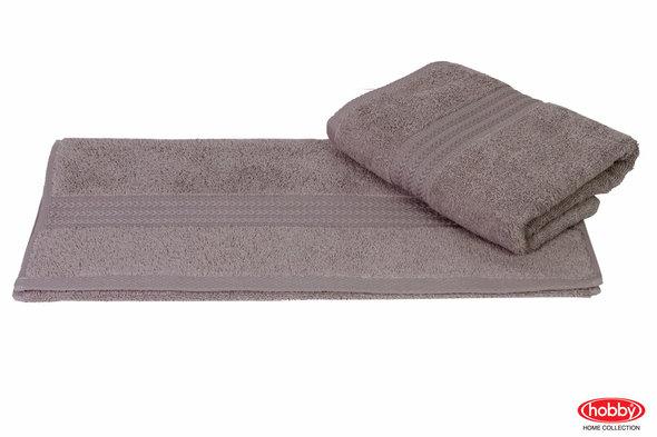 Полотенце для ванной Hobby Home Collection RAINBOW хлопковая махра (серый) 50*90, фото, фотография