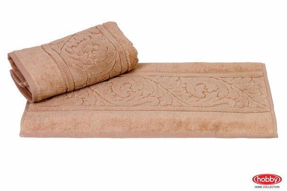 Полотенце для ванной Hobby Home Collection SULTAN хлопковая махра (бежевый) 100*150, фото, фотография