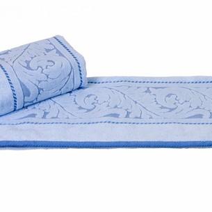 Полотенце для ванной Hobby Home Collection SULTAN хлопковая махра голубой 100х150