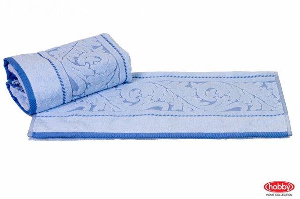 Полотенце для ванной Hobby Home Collection SULTAN хлопковая махра (голубой) 70*140, фото, фотография