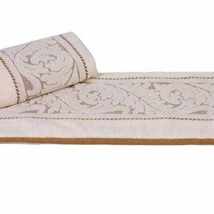 Полотенце для ванной Hobby Home Collection SULTAN хлопковая махра кремовый 100х150