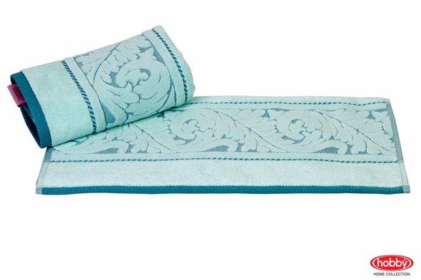Полотенце для ванной Hobby Home Collection SULTAN хлопковая махра (минт) 100*150, фото, фотография