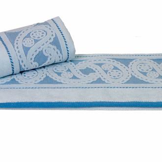 Полотенце для ванной Hobby Home Collection HURREM хлопковая махра (голубой)