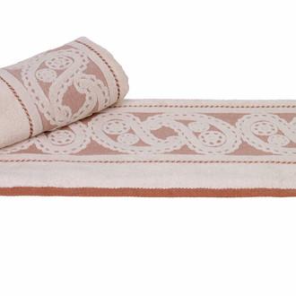 Полотенце для ванной Hobby Home Collection HURREM хлопковая махра кремовый