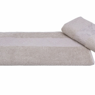 Полотенце для ванной Hobby Home Collection RUZANNA хлопковая махра бежевый