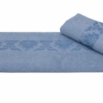 Полотенце для ванной Hobby Home Collection RUZANNA хлопковая махра (голубой)