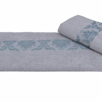 Полотенце для ванной Hobby Home Collection RUZANNA хлопковая махра светло-голубой