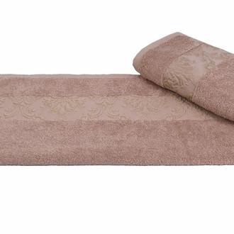 Полотенце для ванной Hobby Home Collection RUZANNA хлопковая махра (светло-коричневый)