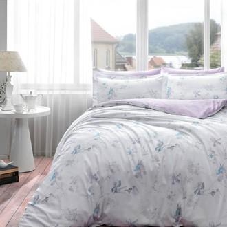 Комплект постельного белья Tivolyo Home IRIS хлопковый люкс-сатин