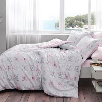 Комплект постельного белья Tivolyo Home MINT хлопковый люкс-сатин