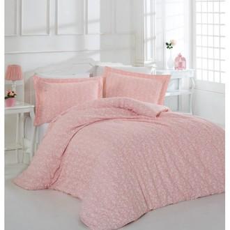 Комплект постельного белья Altinbasak PRETTY хлопковый сатин (розовый)
