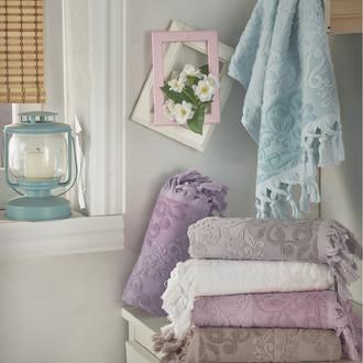 Набор полотенец для ванной (6 шт.) Karna OTTOMAN махра хлопок (V2)