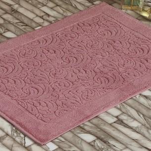 Коврик Karna ESRA хлопковая махра розовый 50х70