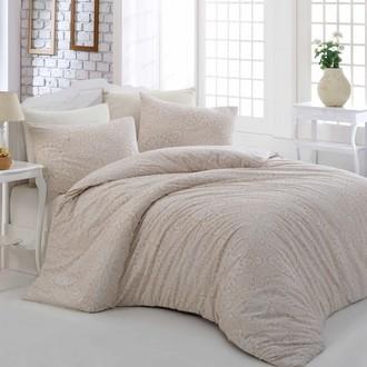 Комплект постельного белья Altinbasak ROZI хлопковый ранфорс (кремовый)