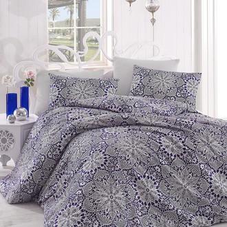 Комплект постельного белья Altinbasak ROZI хлопковый ранфорс (синий)