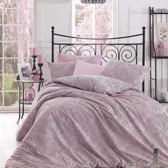 Комплект постельного белья Altinbasak ROZI хлопковый ранфорс (розовый)