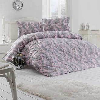 Комплект постельного белья Altinbasak FELLICE хлопковый ранфорс (пудра)