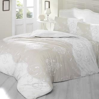 Комплект постельного белья Altinbasak MELINA хлопковый ранфорс (бежевый)