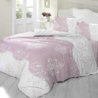 Комплект постельного белья Altinbasak MELINA хлопковый ранфорс (грязно-розовый)