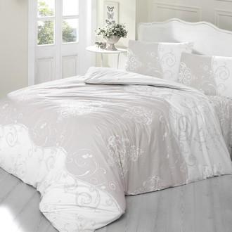 Комплект постельного белья Altinbasak MELINA хлопковый ранфорс (светло-кофейный)