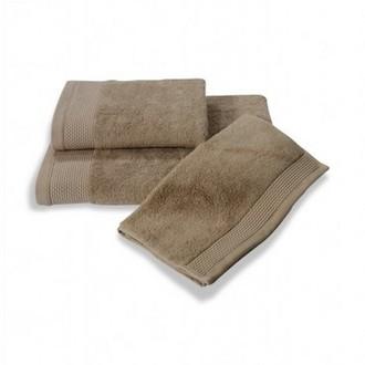 Полотенце для ванной Soft Cotton BAMBU хлопковая/бамбуковая махра бежевый