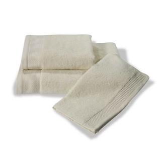 Полотенце для ванной Soft Cotton BAMBU хлопковая/бамбуковая махра (экрю)