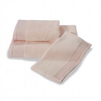 Полотенце для ванной Soft Cotton BAMBU хлопковая/бамбуковая махра розовый