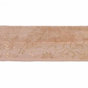 Полотенце для ванной Hobby Home Collection DORA хлопковая махра бежевый 100х150