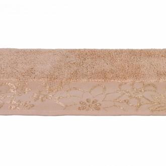 Полотенце для ванной Hobby Home Collection DORA хлопковая махра (бежевый)