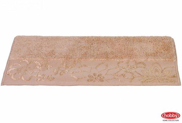 Полотенце для ванной Hobby Home Collection DORA хлопковая махра бежевый 30х50, фото, фотография