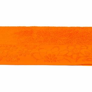 Полотенце для ванной Hobby Home Collection DORA хлопковая махра оранжевый 100х150