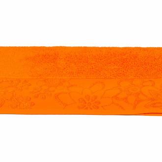 Полотенце для ванной Hobby Home Collection DORA хлопковая махра оранжевый