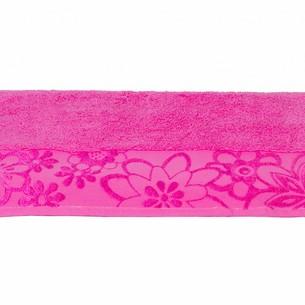 Полотенце для ванной Hobby Home Collection DORA хлопковая махра розовый 100х150
