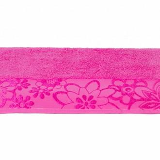 Полотенце для ванной Hobby Home Collection DORA хлопковая махра (розовый)