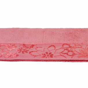 Полотенце для ванной Hobby Home Collection DORA хлопковая махра тёмно-розовый 100х150