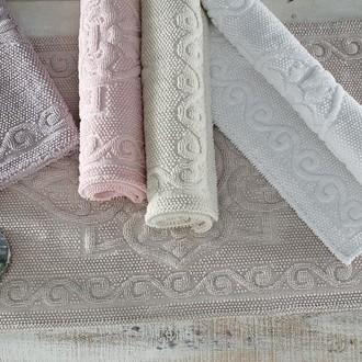 Набор ковриков 2 пр. Gelin Home SONIL хлопковая махра (белый)