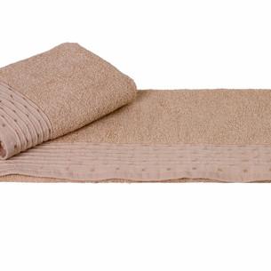 Полотенце для ванной Hobby Home Collection GOFRE хлопковая махра бежевый 50х90
