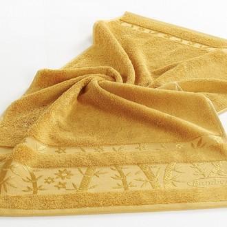 Полотенце для ванной Pupilla ELIT бамбуковая махра (горчичный)